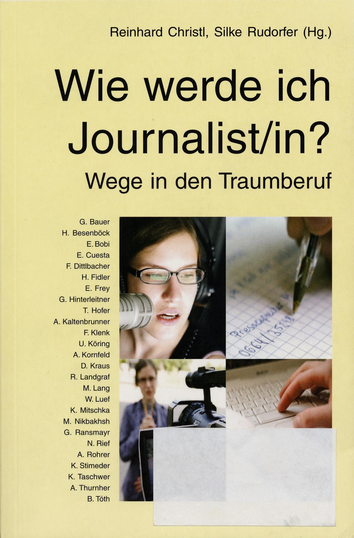 wie werde journalist